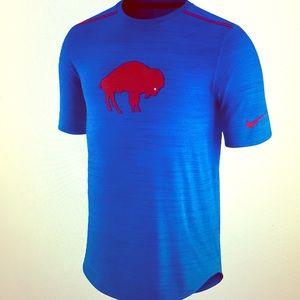 BuffaloBills Nike Breathe sideline performance top